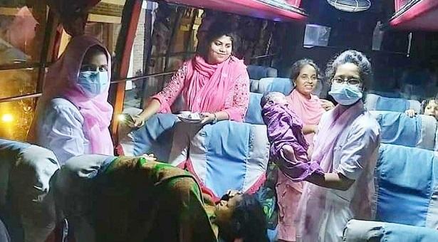 ঢাকা-কক্সবাজার যাত্রায় গভীর রাতে বাসেই সন্তান প্রসব