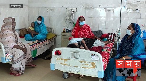 দিনাজপুরে ভাইরাল জ্বরের হানা, সামাল দিতে হিমশিম খাচ্ছে হাসপাতাল