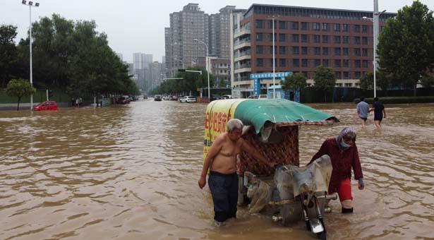 চীনে ভয়াবহ বন্যার পর আসছে আরও দুঃসংবাদ